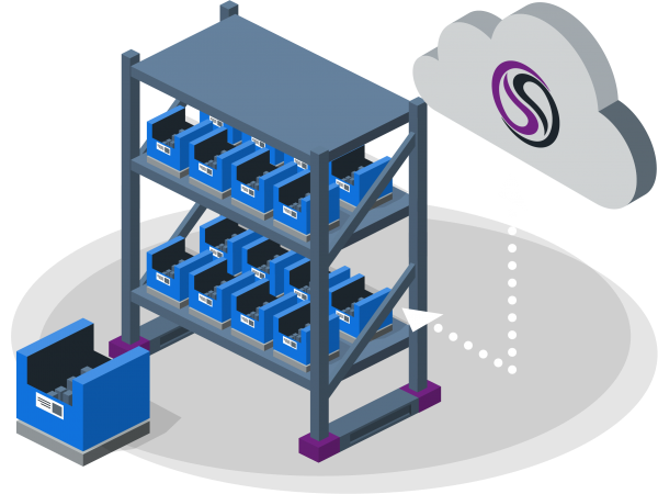iBin is a scale-based inventory monitoring solution