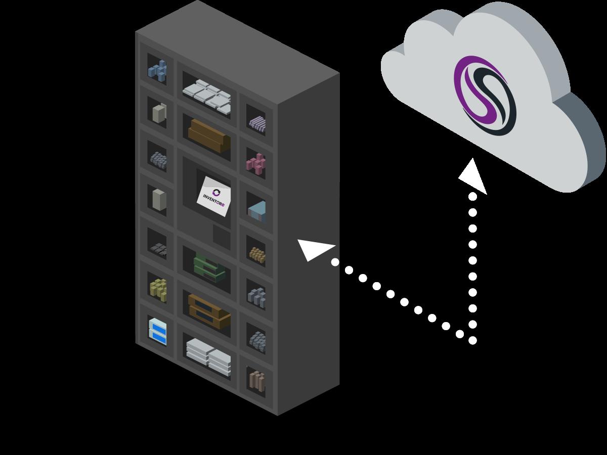 iVend Locker is a locker based industrial vending solution