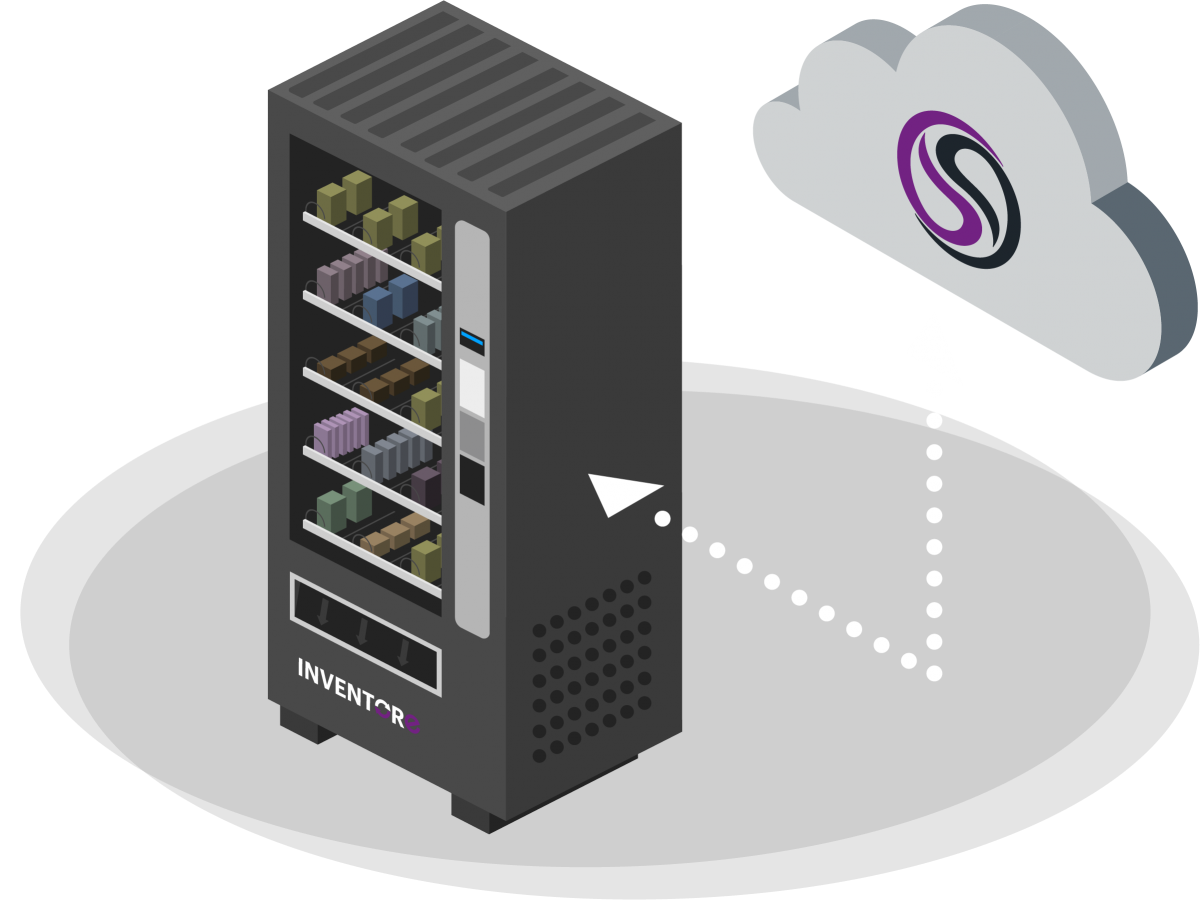 iVend Spiral is an industrial spiral vending solution