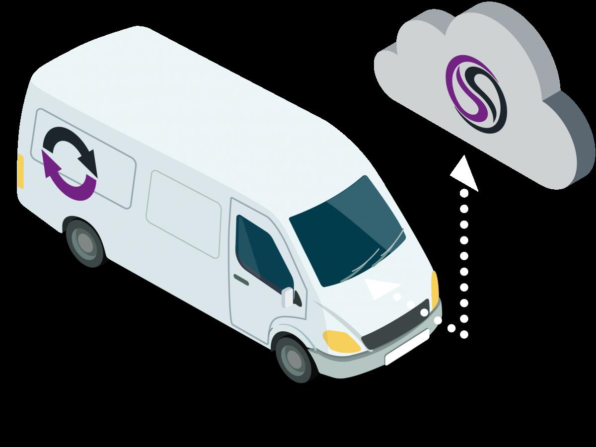 Smart Van is an app based fleet inventory management solution